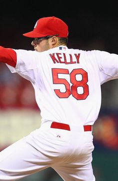 Reliever Joe Kelly of the St. Louis Cardinals pitches against the  Pittsburgh Pirates in the ninth inning at Busch Stadium on April 2013 in St.  The Cardinals ... 3e2a5e241