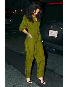 La combi large de Rihanna