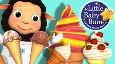 Ice Cream Song for Children   Nursery Rhymes   Original Song by LittleBa...