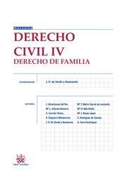 Derecho civil IV. Derecho de familia. Tirant lo Blanch, 2013.