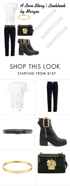 """""""Act 1: Meeting"""" by anjaofficial on Polyvore featuring Enfants Riches Déprimés, OneTeaspoon, rag & bone, Burberry, Kate Spade and Dolce&Gabbana"""