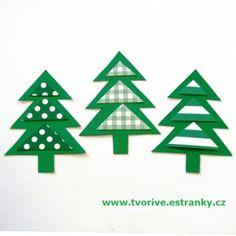 stromek - trojúhelníky