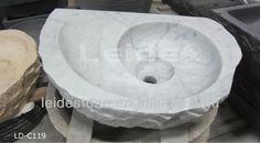 bianco carrara mármore branco pia pia de pedra-imagem-Banca de Banheiro -ID do produto:904548040-portuguese.alibaba.com
