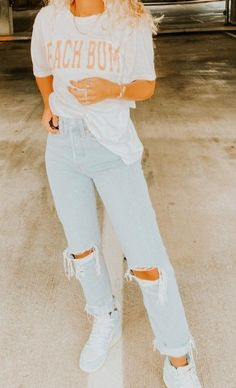 Cute Lazy Outfits, Casual School Outfits, Teenage Outfits, Teen Fashion Outfits, Retro Outfits, Simple Outfits, Outfits For Teens, Look Fashion, New Outfits