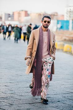 Fashion Week homme Street looks Milan automne hiver 2016 2017