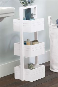 3 Tier Bamboo Caddy Southport Bathroom From The Next Uk Online