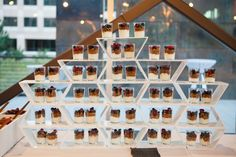 maybe for a bridal/baby shower....individual yogurt parfaits