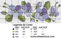 """ART'S MODA """" A GRIFFE DA ARTE"""": coleção de gráficos em ponto cruz!!!"""