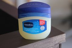 use Vaseline to distress furniture