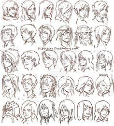 30 heads by Kibbitzer.deviantart.com on @deviantART