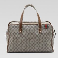 f68f39b0ee2 Gucci Duffels Firma Con Il Ciclo Web Grigio 211133FCIXG8527 GI347 Shoes  Outlet