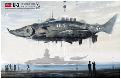 Concept art for an underwater stage. Took reference of various artists including Erik Tiemens, J. Russian Submarine, Sea Monsters, Big Fish, Cool Cartoons, Dieselpunk, Various Artists, You're Awesome, Underwater, Fighter Jets