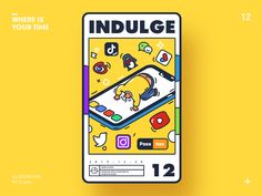 Indulge designed by Rwds. Connect with them on Dribbble; the global community for designers and creative professionals. Game Design, Ui Design, Icon Design, Layout Design, Graphic Design Posters, Graphic Design Illustration, Graphic Design Inspiration, Pirate Illustration, Design Reference