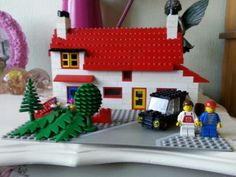 Front of my house in lego