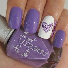 ooooh I like the heart with different shades of purple...