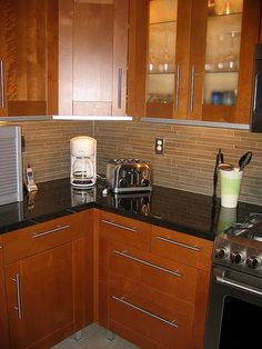 Best Grey Hardwood Floors Accent A Modern Kitchen With Cherry 640 x 480