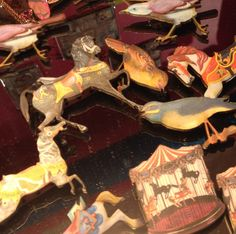Birds, feathers, carousel horses Brooches or necklaces £8.65 - £16.95 available in store