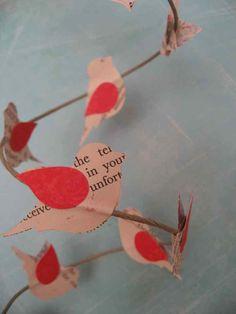 Birds on a wire garland