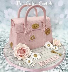 Beautiful bag cake