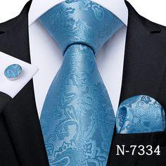 Paisley Tie, Mens Silk Ties, Cufflink Set, Tie Set, Pocket Square, Mens Fashion, Fashion Suits, Men's Swag, Accessories