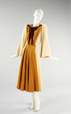 Dress - 1943 - American - silk by Charles James (American, born Great Britain) Metropolitan Museum of Art