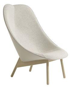 Uchiwa Gepolsterter Sessel – Hay