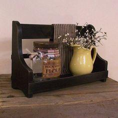 Primitive Jar Keep Cubby Shelf / Kitchen Bathroom by Sawdusty, $30.00