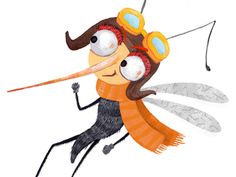 Mosquito by Katarina Ilkovicova