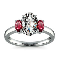 """Would you say """"yes"""" to this gorgeous ruby ring?"""
