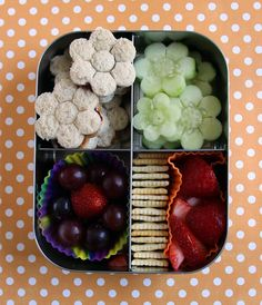 Flower LunchBots Bento for the San Francisco Conservatory of Flowers