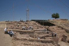 The main excavation area at the Neolithic sanctuary of Göbekli Tepe, southeastern Turkey, back in Dolores Park, Travel, Viajes, Trips, Traveling, Tourism, Vacations
