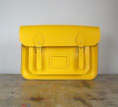 Cambridge Satchel Co. / Yellow 13