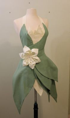 Princess Tiana Apron by darkballoons on Etsy