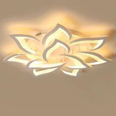 Flower Chandelier, Ceiling Chandelier, Ceiling Light Fixtures, Modern Chandelier, Flower Lamp, Chandeliers, Crystal Ceiling Light, Modern Led Ceiling Lights, Chandelier In Living Room