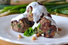 The View from Great Island | Lebanese Meatballs