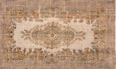 Turkish Overdyed Rug, 5'9'' x 9'10'' - Rugs - Vintage by Category - Vintage   One Kings Lane