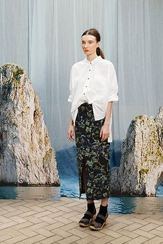Creatures Of Comfort Delivers An Idyllic, Island-Inspired Spring '14 #refinery29  http://www.refinery29.com/creatures-of-comfort#slide-32