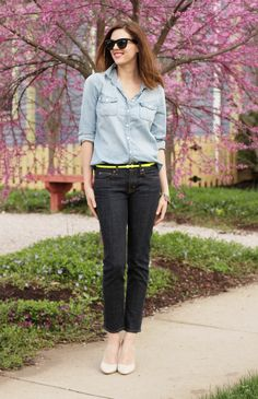 What I Wore: Blue Collar on What I Wore