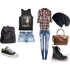 """Grunge/Concert outfits"" by breannaleighsloan on Polyvore"
