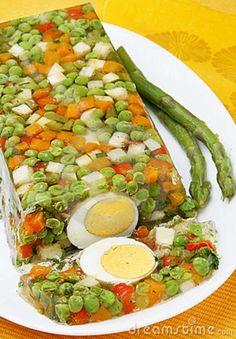 Vegetable Aspic