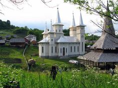 Maramures, Romania by Franz Bauer Peaceful Places, Wonderful Places, Famous Castles, Place Of Worship, Romania Food, Romania Travel, To Go, Cathedrals, World