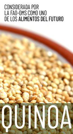 Un alimento perfecto para deportistas. Quinoa, Cereal, Natural, Breakfast, Food, Gluten Free Foods, Vegetables, Go Green, Cholesterol Levels