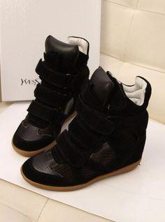 Womens Fashion Sneakers, Sneakers Women, Black Sneakers, Fashion Flats, Shoe Pattern, Sneakers For Sale, Cheap Shoes, Cheap Fashion, Shoes