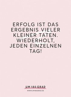 Mehr Motivation für den Kampf gegen Selbstzweifel findest Du auch auf dem Business-Blog für ambitionierte Frauen: www.um180grad.de Positive Motivation, Business Motivation, Fitness Motivation Quotes, Study Motivation, Positive Quotes, Motivational Quotes For Success, Inspirational Quotes, Montag Motivation, Serious Quotes