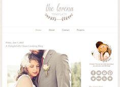 Lorena Blogger Template - Luvly Marketplace | Premium Design Resources #blogger #template