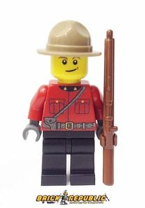 Brick Republic Custom Minifigure Canadian Mountie RCMP