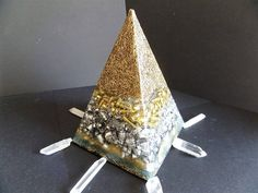 Simple Yet Effective~ Budget Orgone Pyramid~ EMF Protection~Orgone Energy~ by OrgoneJewelsUK on Etsy Budgeting, Healing, Unique Jewelry, Handmade Gifts, Simple, Etsy, Vintage, Handcrafted Gifts, Hand Made Gifts