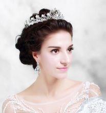 Boda del pelo De la corona Noiva Tiara De Cabelo tocados De novia joyas De cabeza Diademas diadema Tiaras y coronas WIGO0426(China (Mainland))