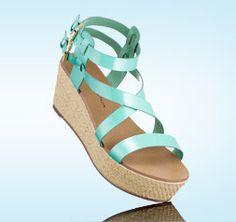 Limited Collection Flatform Wedge Sandals