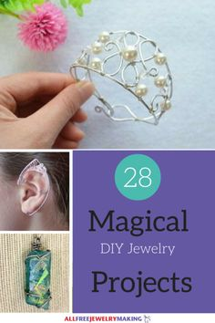 "Everybody loves a story that has a happily ever after or in some way or other has a touch of magic in it. Well, this collection of 28 Magical DIY Jewelry Projects will bring that wonderful magic touch into your DIY jewelry. You don't have to be a little kid to enjoy some true magical jewelry pieces.<br /> Whether you love magic spells and making <a href=""http://www.allfreejewelrymaking.com/Wire-Wire-work/Beaded-Potion-Bottle-Brac..."